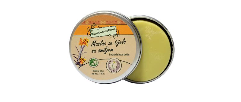Imortella Body butter/Maslac za tijelo sa smiljem