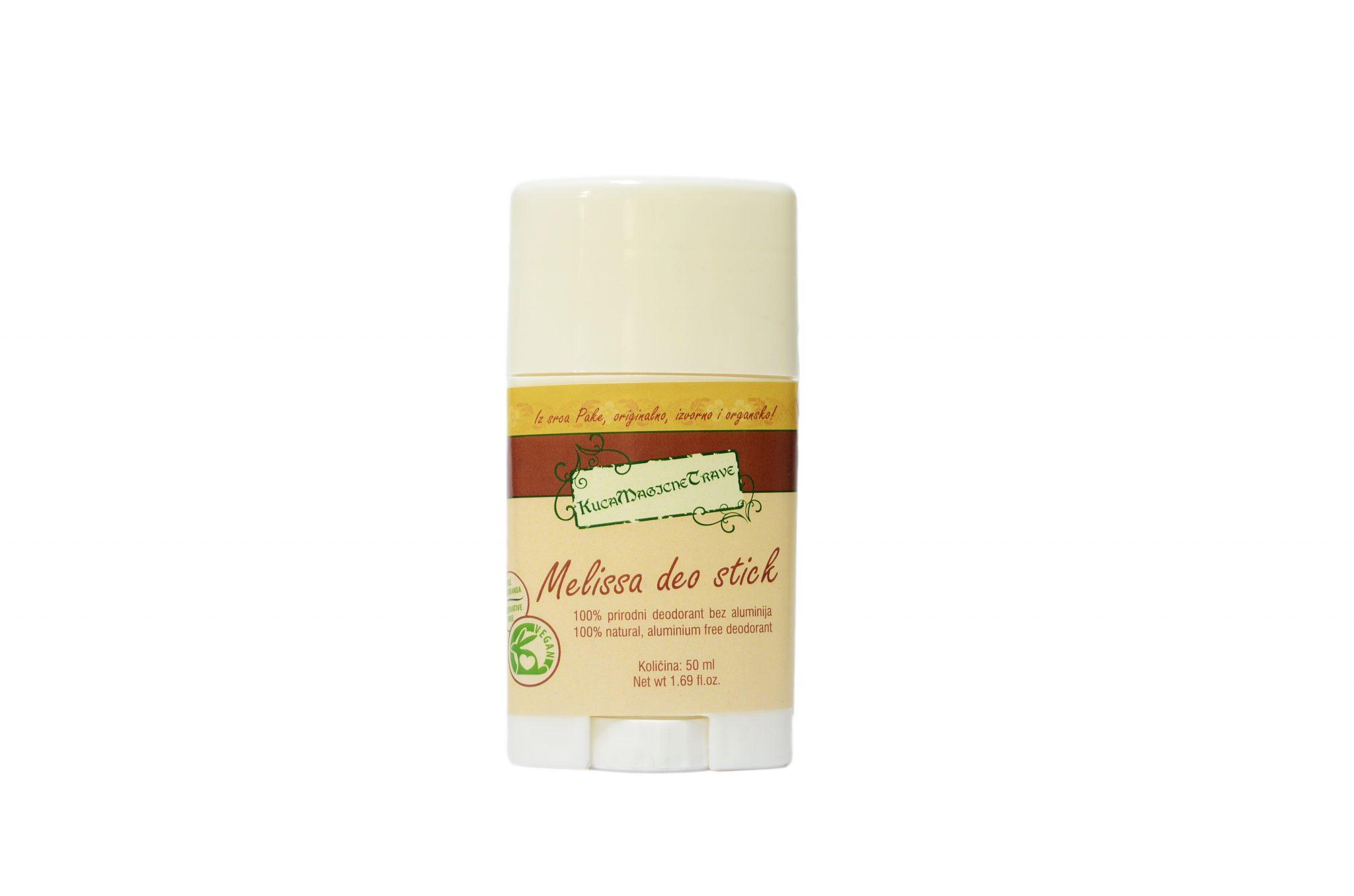Vege natural deodorant/ Melisa veganski deodorant