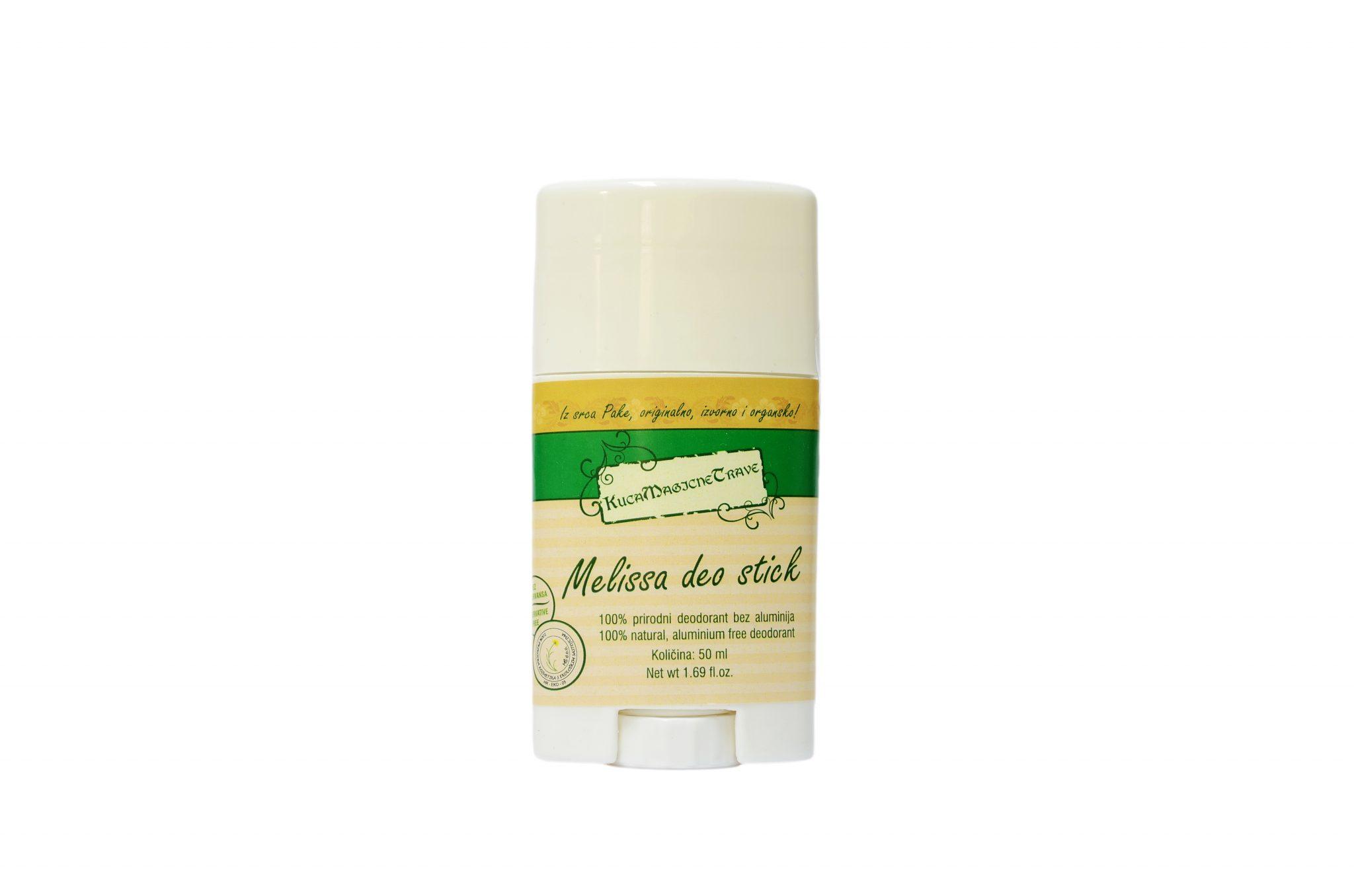 Melissa natural deodorant/ Prirodni deodorant melisa