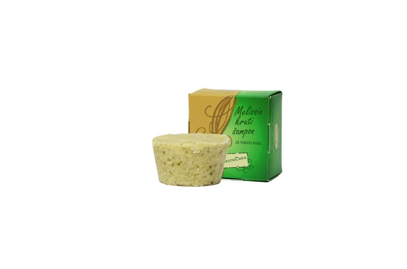 Solid shampoo for greasy hair/ Kruti šampon za masnu kosu