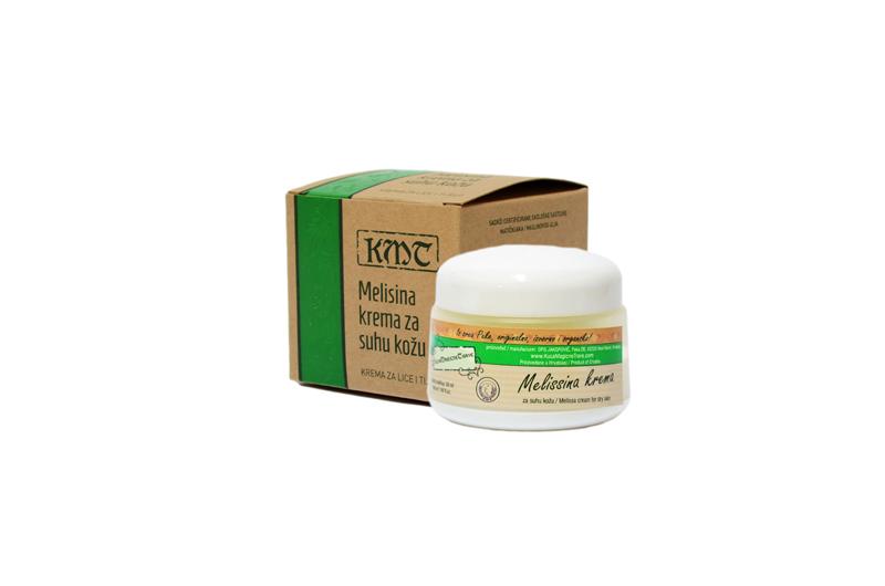 Melissa Cream for dry skin/ Melisina krema za suhu kožu