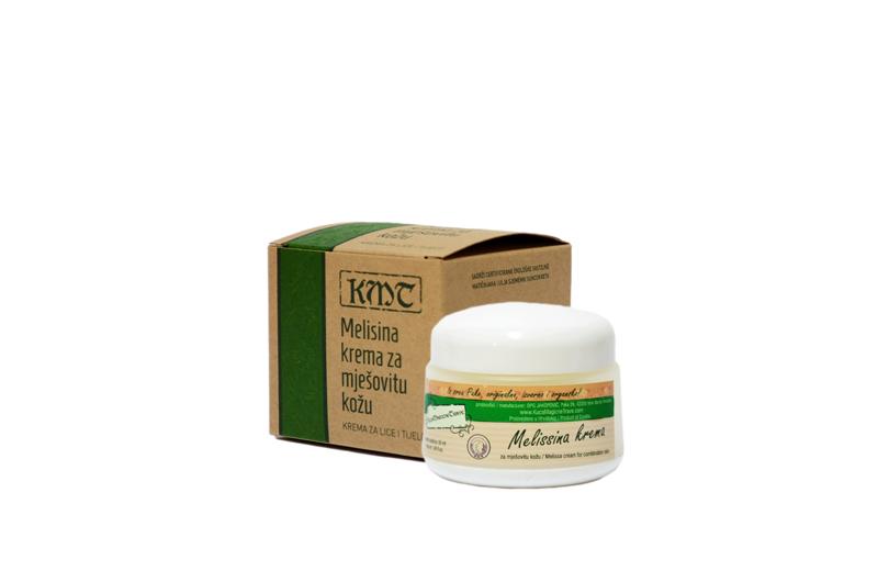 MelisaFace Cream for combination skin/Melisina Krema za mješovitu kožu lica